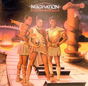 Album  Cover Imagination - In The Heat Of The Night on  Records from 1983