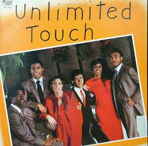 Front Cover Album Unlimited Touch - Unlimited Touch