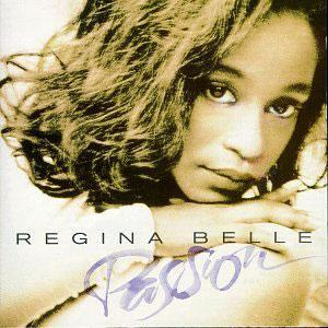 Album  Cover Regina Belle - Passion on COLUMBIA Records from 1993
