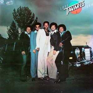 Album  Cover Tavares - Love Storm on CAPITOL Records from 1977