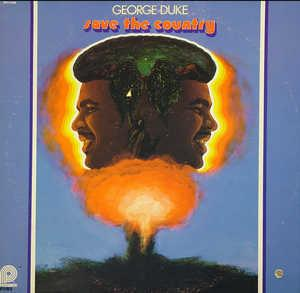 Front Cover Album George Duke - Save The Country