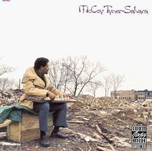 Album  Cover Mccoy Tyner - Sahara on MILESTONE / OJC Records from 1972