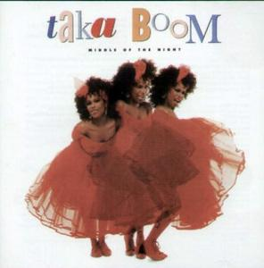 Album  Cover Taka Boom - Middle Of The Night on MIRAGE (ATLANTIC RECORDING) Records from 1985