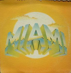 Album  Cover Miami - Miami on PARLOPHONE Records from 1978