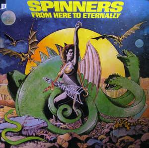 Album  Cover The Spinners - From Here To Eternally on ATLANTIC Records from 1979
