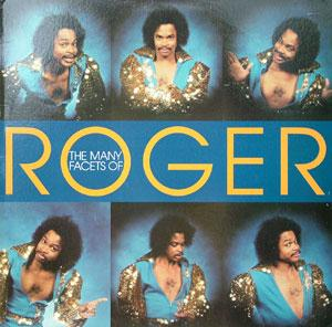 Front Cover Album Roger Troutman - The Many Facets Of