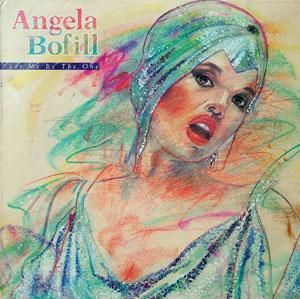 Album  Cover Angela Bofill - Let Me Be The One on ARISTA Records from 1984