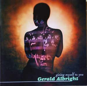 Album  Cover Gerald Albright - Giving Myself To You on ATLANTIC Records from 1995