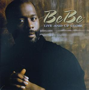 Front Cover Album Bebe Winans - Live And Up Close