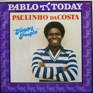 Album  Cover Paulinho Da Costa - Happy People on PABLO Records from 1979