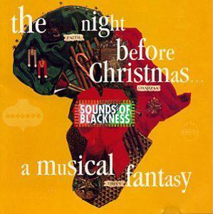 Album  Cover Sounds Of Blackness - The Night Before Christmas - A Musical Fantasy on PERSPECTIVE/A&M Records from 1992