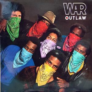 Album  Cover War - Outlaw on RCA Records from 1982