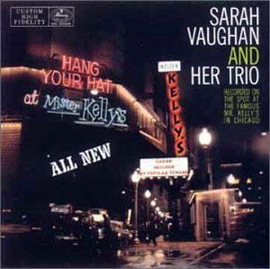 Album  Cover Sarah Vaughan - Sarah Vaughan At Mr. Kelly's on MERCURY Records from 1985