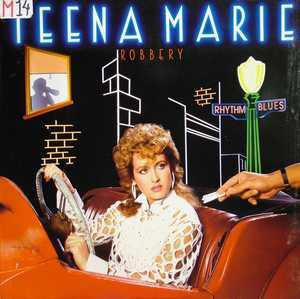 Album  Cover Teena Marie - Robbery on EPIC Records from 1983