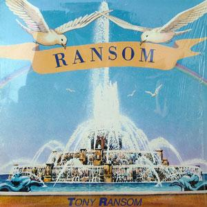 Album  Cover Tony Ransom - Ransom on EXPANSION Records from 1985