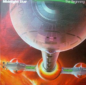 Front Cover Album Midnight Star - The Beginning