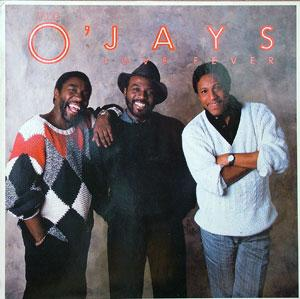 Front Cover Album The O'jays - Love Fever