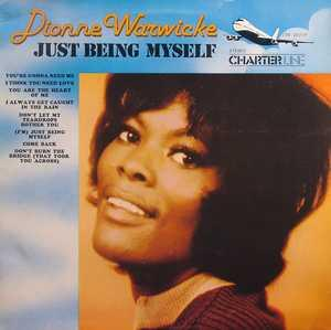 Album  Cover Dionne Warwick - Just Being Myself on CHARTER LINE Records from 1973