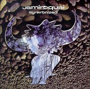 Album  Cover Jamiroquai - Synkronized on SONY Records from 1999