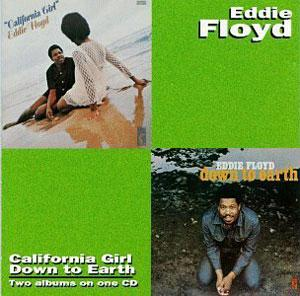 Album  Cover Eddie Floyd - Down To Earth on STAX Records from 1971