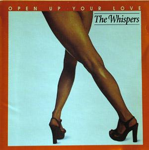 Album  Cover The Whispers - Open Up Your Love on SOUL TRAIN Records from 1977