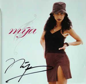 Album  Cover Mya - Mya on INTERSCOPE Records from 1998
