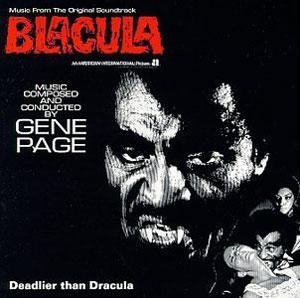 Album  Cover Gene Page - Blacula on RCA Records from 1979