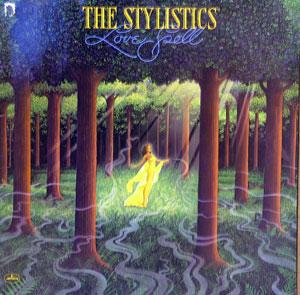 Front Cover Album The Stylistics - Love Spell