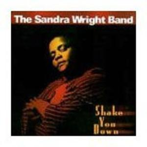 Album  Cover Sandra Wright - Shake You Down on HIPSHAKE RECORDS Records from 1995