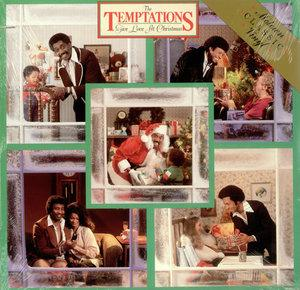 Album  Cover The Temptations - Give Love At Christmas on GORDY Records from 1980