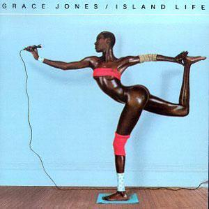 Album  Cover Grace Jones - Island Life on ISLAND Records from 1985