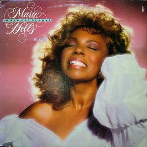 Album  Cover Mary Wells - In And Out Of Love on EPIC Records from 1981