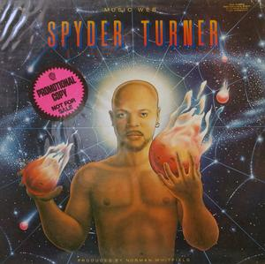 Album  Cover Spyder Turner - Music Web on WHITFIELD Records from 1978