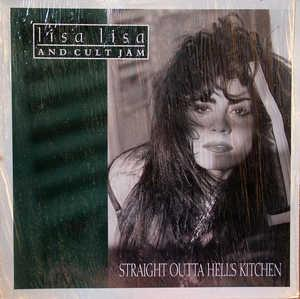 Album  Cover Lisa Lisa & Cult Jam - Straight Outta Hell's Kitchen on COLUMBIA Records from 1991