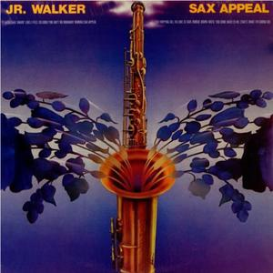Front Cover Album Junior Walker & The All-stars - SAX Appeal