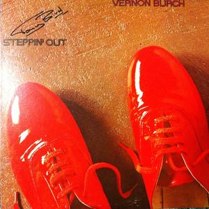 Front Cover Album Vernon Burch - Steppin' Out