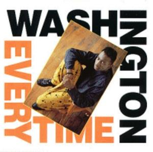 Album  Cover Washington - Everytime on FRONTLINE Records from 1990