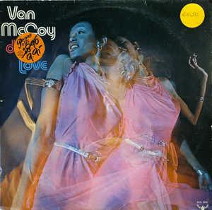 Album  Cover Van Mccoy - From Disco To Love on BUDDAH Records from 1972