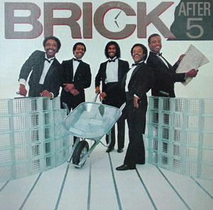 Album  Cover Brick - After 5 on BANG Records from 1982