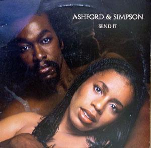 Album  Cover Ashford & Simpson - Send It on WARNER BROS. Records from 1977