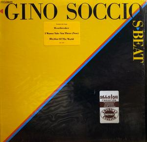 Album  Cover Gino Soccio - S-beat on WARNER BROS. Records from 1980