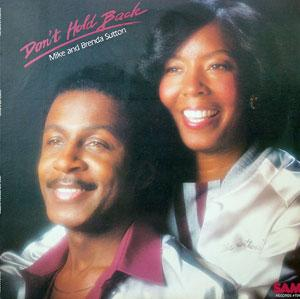 Album  Cover Mike And Brenda Sutton - Don't Hold Back on SAM Records from 1982