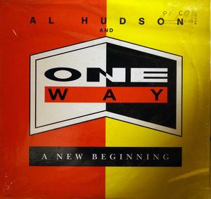Album  Cover One Way - A New Beginning on CAPITOL Records from 1988