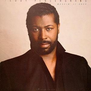 Front Cover Album Teddy Pendergrass - Workin' It Back