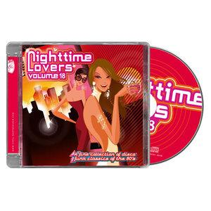 Album  Cover Various Artists - Nighttime Lovers Volume 18 on PTG Records from 2013