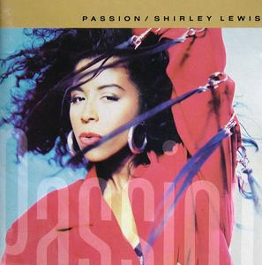 Album  Cover Shirley Lewis - Passion on A&M Records from 1989
