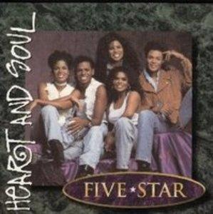 Album  Cover Five Star - Heart & Soul on TENT Records from 1995