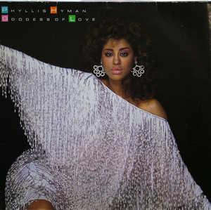 Front Cover Album Phyllis Hyman - Goddess Of Love