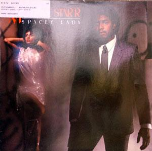 Front Cover Album Maurice Starr - Spacey Lady