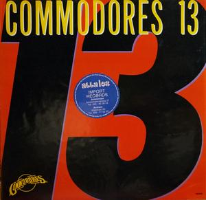 Front Cover Album Commodores - 13